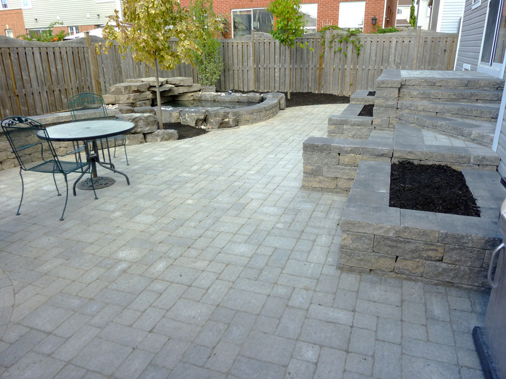 Patio Backyard Landscaping Various Design Inspiration For Backyard