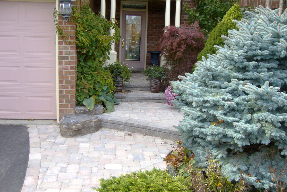 Landscaping front yard landscaping ideas ontario for Garden design ideas canada