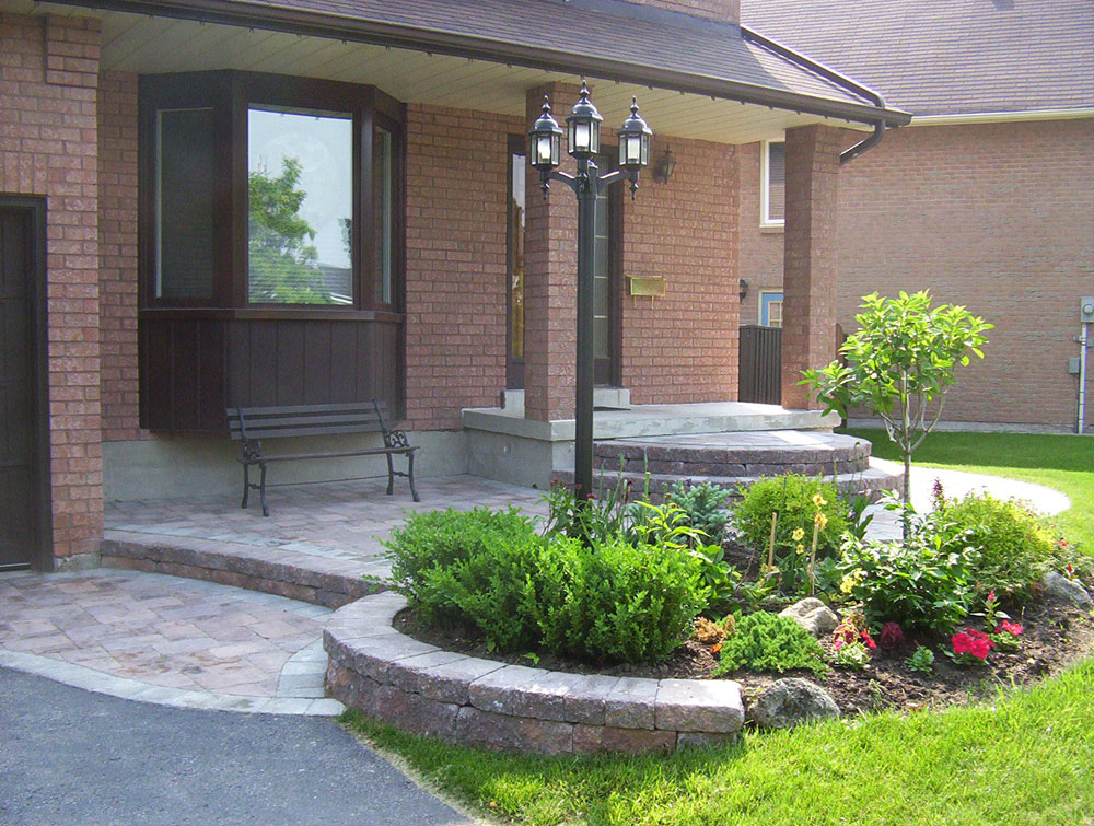 For landscaping landscape pool design toronto for Garden entrance designs
