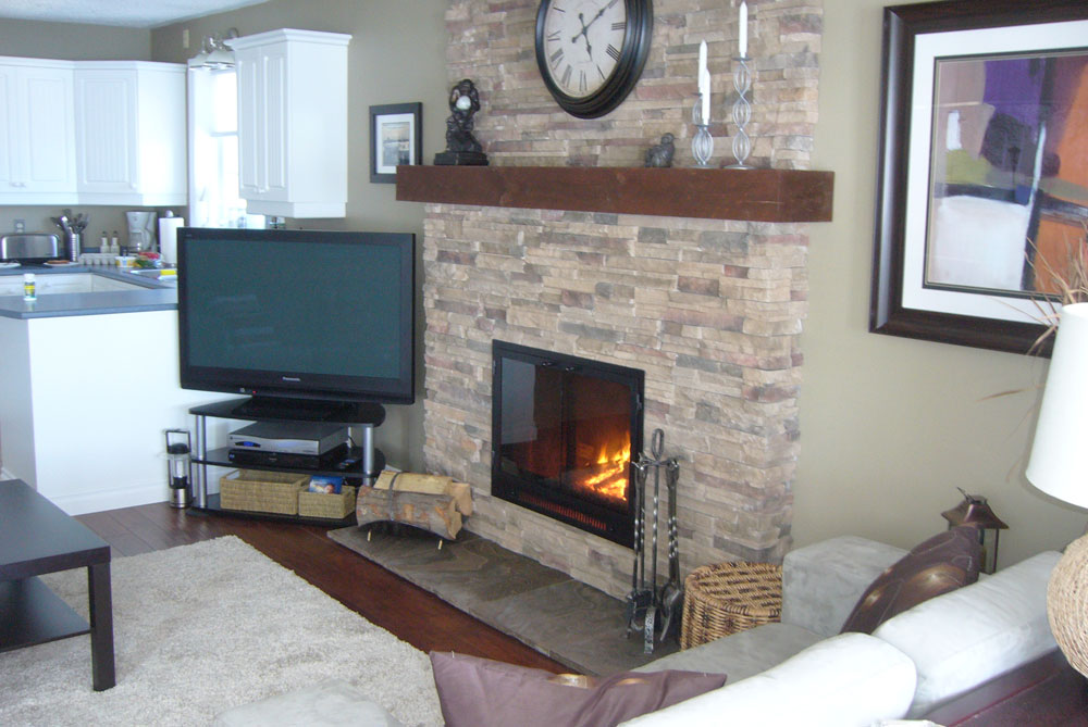 Brick Fireplace Designs