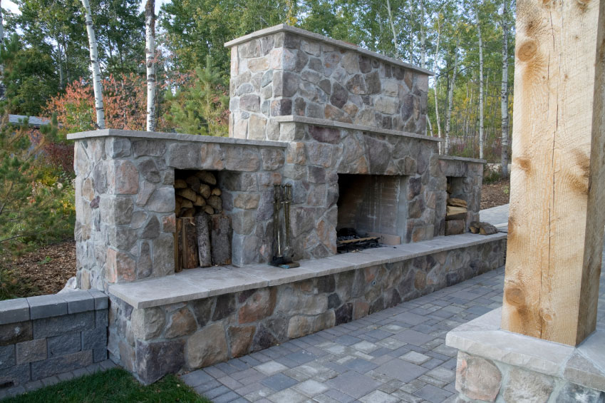 stone fireplace design installation durham whitby